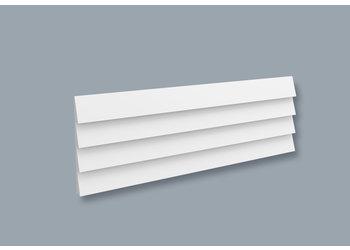 NMC 3D Wallpanel / Wandpaneel Stripe Polyurethaan (1135 x 380 x 38.2 mm)  - 4 Wandpanelen