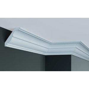 Grand Decor Kroonlijst K215 / P946 (85 x 90 mm), polyurethaan, lengte 2 m