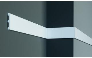 Grand Decor Platte plint CR932 (80 x 11 mm) polyurethaan, lengte 2 m