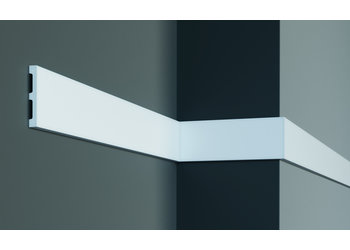 Grand Decor Platte plint CR932 / M203 (80 x 11 mm) polyurethaan, lengte 2 m