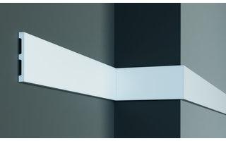 Grand Decor Platte plint CR956 (100 x 12 mm) polyurethaan, lengte 2 m