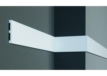 Grand Decor Platte plint M225 / CR956 (100 x 12 mm) polyurethaan, lengte 2 m