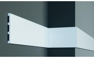 Grand Decor Platte plint CR958 (148 x 13 mm) polyurethaan, lengte 2 m