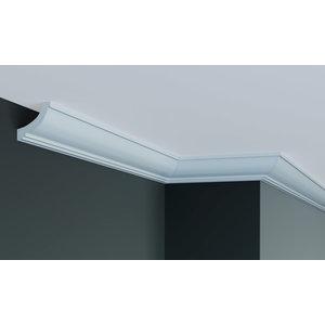 Grand Decor Plafondlijst P920 / K229 (50 x 50 mm), polyurethaan, lengte 2 m