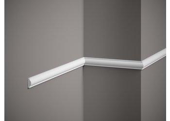 Grand Decor Kaderlijst CR954 / M220 (21 x 10 mm), polyurethaan, lengte 2 m