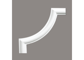 Grand Decor CR954A / M220-1 hoekbochten (130 x 130 mm), polyurethaan, set (4 hoeken)