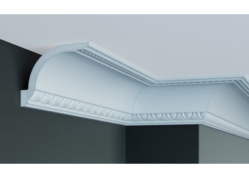 Grand Decor Kroonlijst C746  (108 x 137 mm), polyurethaan, lengte 2 m