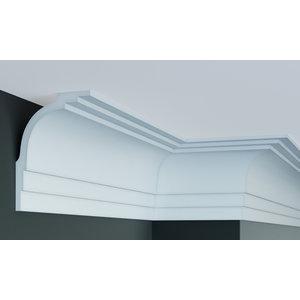 Grand Decor Kroonlijst P880 (170 x 120 mm), polyurethaan, lengte 2 m