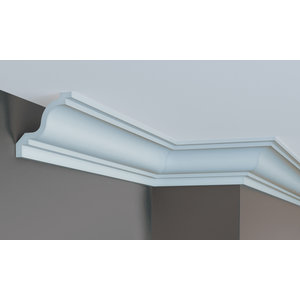 Grand Decor Kroonlijst P855 (91 x 91 mm), polyurethaan, lengte 2 m