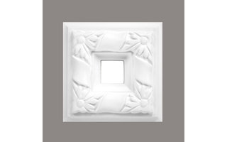 Grand Decor CR710E Ornamenten (100 x 100 mm), polyurethaan, set (4 stuks)