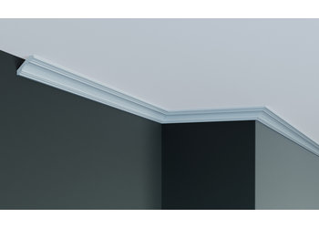 Grand Decor Kroonlijst P925 / K234 (50 x 50 mm), polyurethaan, lengte 2 m