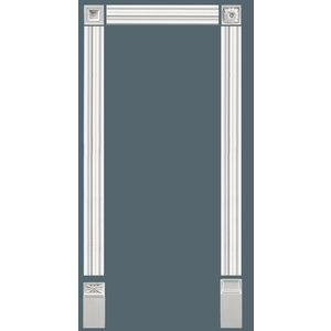 Grand Decor Wandlijst / Deuromlijsting D491 (95 x 21 mm) polyurethaan, lengte 200 cm