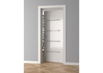 Lijst & Ornament Architraaf / Deurlijst / Plint MD258 (81 x 10 mm), lengte 2 m