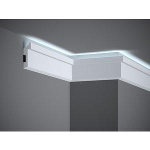 Lijst & Ornament Plint MD024 LED  (80 x 27 mm), lengte 2 m