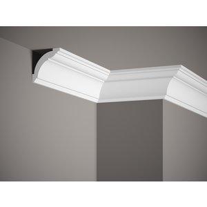 Lijst & Ornament Plint LED MD367 (72 x 72 mm), HDPS, lengte 2 m