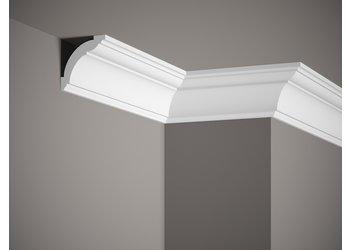 Lijst & Ornament Plint MD367 (72 x 72 mm), HDPS, lengte 2 m