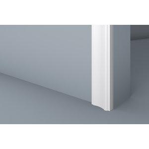 Lijst & Ornament Plint MD007 (73 x 23 mm), lengte 2 m
