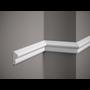Grand Decor Kaderlijst M201 (40 x 20 mm), polyurethaan, lengte 2 m OP = OP
