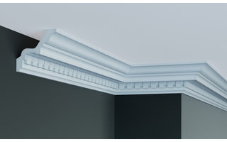 Grand Decor Kroonlijst C738 (85 x 85 mm), polyurethaan, lengte 2 m (Z2)