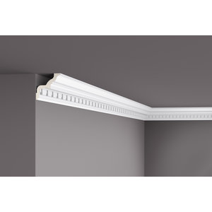 Grand Decor Kroonlijst C738/K102 (85 x 85 mm), polyurethaan, lengte 2 m (Z2)