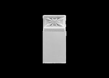 Grand Decor Plintneut D402 (23 x 10,9 х 2,8 cm), polyurethaan