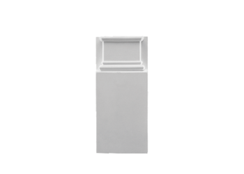 Grand Decor Plintneut D492N (25 x 9,5 х 3 cm), polyurethaan