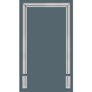 Grand Decor Wandlijst / Deuromlijsting D480 (94 x 33 mm) polyurethaan, lengte 200 cm