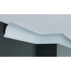 Grand Decor Kroonlijst P893 (90 x 65 mm), polyurethaan, lengte 2 m