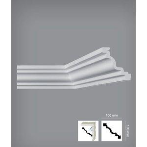 Bovelacci Italstyl IT764 (100 x 100 mm), lengte 2 m, (ook voor indirecte verlichting)