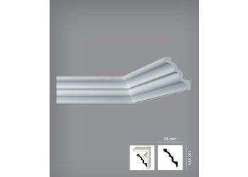 Bovelacci Italstyl IT775 (95 x 105 mm), lengte 2 m, (ook voor indirecte verlichting)