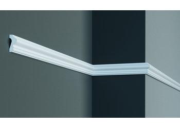 Grand Decor Kaderlijst CR824 (42 x 18 mm), polyurethaan, lengte 2 m