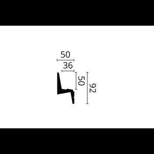 NMC NMC Arstyl IL6 (92 x 50 mm), polyurethaan, lengte 2 m