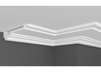 Grand Decor Kroonlijst P897 (160 x 32 mm), polyurethaan, lengte 2 m