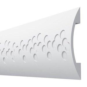 Vidella Wandlijst ST2 (120 x 15 mm), lengte 2 m