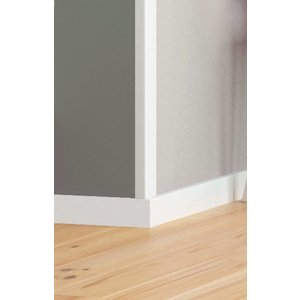 Homestar Kunststof hoekprofiel / hoeklijst / hoekbeschermer CP30 (30 x 30 mm), lengte 2 m