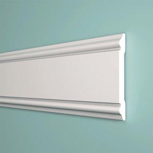 Homestar Wandlijst CW12 (60 x 8 mm), lengte 2 m