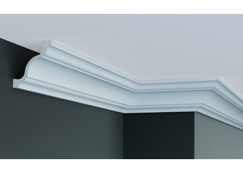 Grand Decor Plafondlijst P813 (80 x 80 mm), polyurethaan, lengte 2 m (Z19)