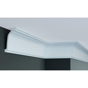 Grand Decor Kroonlijst P836 (124 x 58 mm), polyurethaan, lengte 2 m