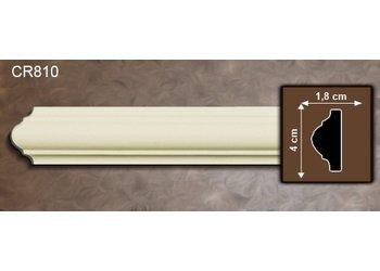 Grand Decor Kaderlijst CR810 (40 x 18 mm), polyurethaan, lengte 2 m