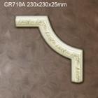 Grand Decor CR710A hoekbochten (230 x 230 mm), polyurethaan, set (4 hoeken)