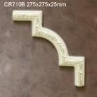 Grand Decor CR710B hoekbochten (275 x 275 mm), polyurethaan, set (4 hoeken)
