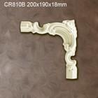 Grand Decor CR810B hoekbochten (200 x 190 mm), polyurethaan, set (4 hoeken) Z101