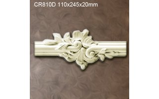 Grand Decor CR810D Sierstukjes (110 x 245 mm), polyurethaan, set (4 stuks) Z104