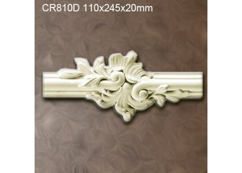 Grand Decor CR810D Sierstukjes (110 x 245 mm), polyurethaan, set (4 stuks)
