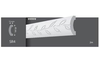 Vidella Wandlijst SR4 (40 x 15 mm), lengte 2 m