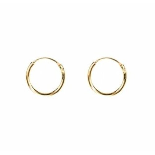 Oh So HIP Oorringen gold plated 14 mm
