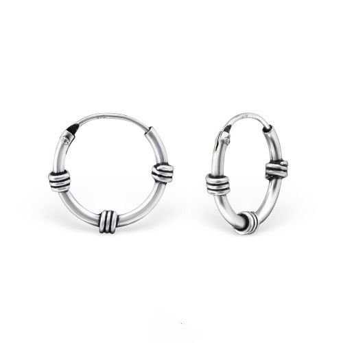Oh So HIP Bali hoops 12 mm