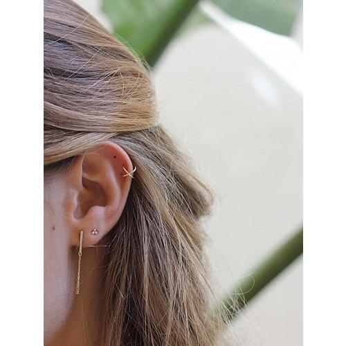Oh So HIP Ear Cuff Twist goud