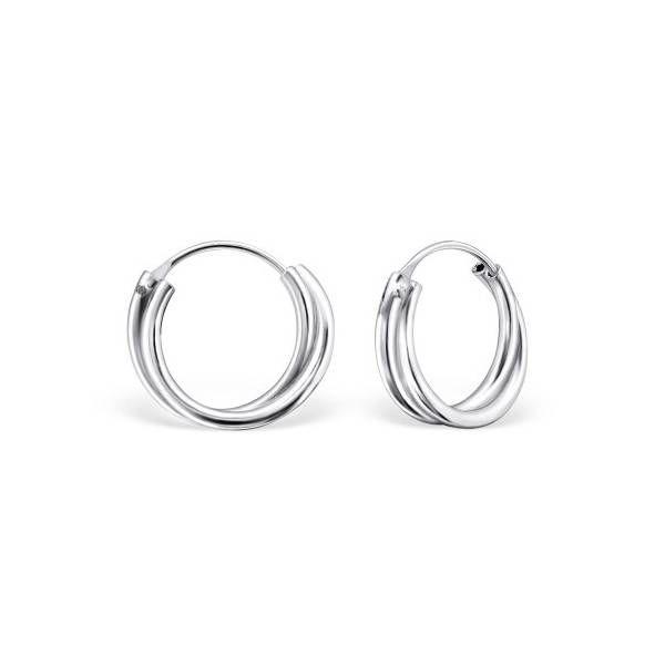 Oh So HIP Twisted Hoop earrings