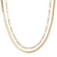 Schakelkettingen Box Chain Choker set